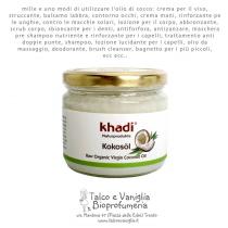 Olio di Cocco grezzo - Khadi