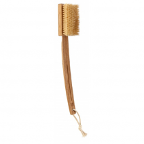 Spazzola bagno con manico estraibile in fibra di tampico - Tek