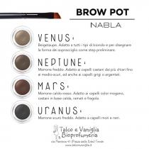 Brow Pot crema per Sopracciglia - Nabla Cosmetics