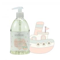 Bagno & Shampoo Delicato ai Fiori di Lino - Maternatura