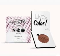 Ombretto 15 DuoChrome Rosa Antico E Tortora - PuroBio Cosmetics