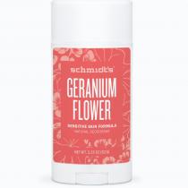 SENSITIVE SKIN DEODORANT STICK GERANIUM FLOWER